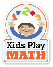 Kids Play Math/ University of Denver logo